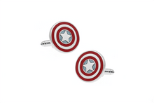 Load image into Gallery viewer, Captain America Cuff Links