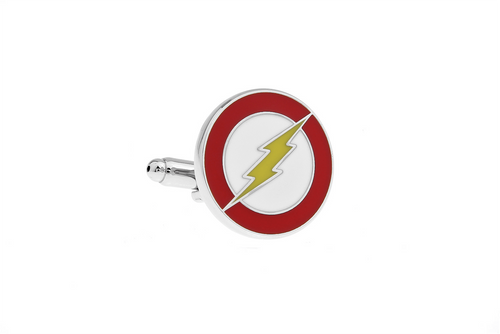 Flash Cuff Links, Unbreakable Man - 1
