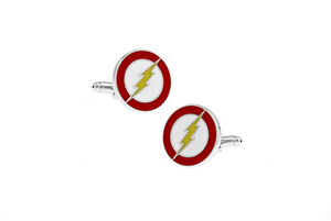 Flash Cuff Links, Unbreakable Man - 2
