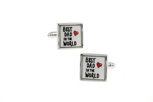 Best Dad Cuff Links, Unbreakable Man - 2