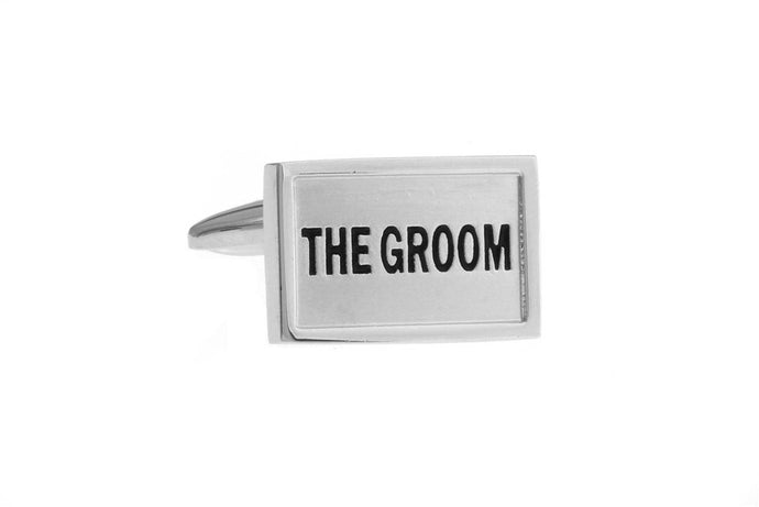 The Groom Cuff Links, Unbreakable Man - 1