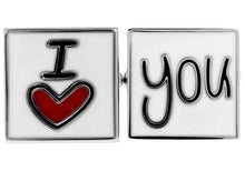 Load image into Gallery viewer, I Love You Cuff Links, Unbreakable Man - 2