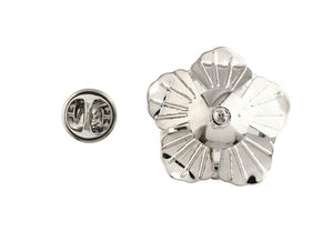 White Rose Lapel Badge