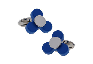 Fidget Spinner Cuff Links