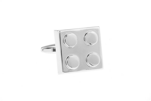 Bricklink Cuff Links, Unbreakable Man - 1