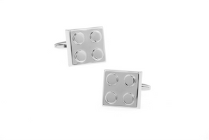 Bricklink Cuff Links, Unbreakable Man - 2