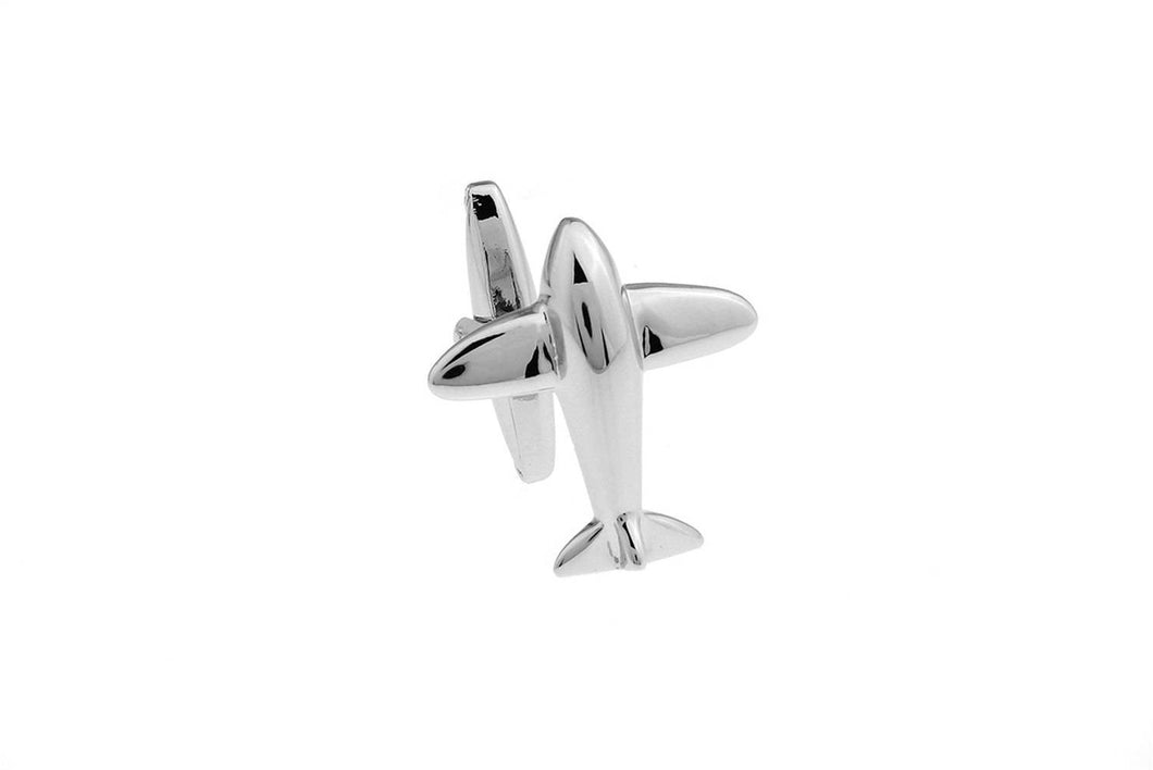 Aeroplane Cuff Links, Unbreakable Man - 1