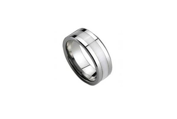 Elegance Tungsten Ring, Unbreakable Man