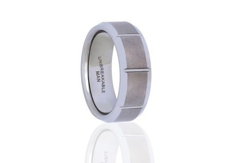 Focus Tungsten Ring, Unbreakable Man - 1