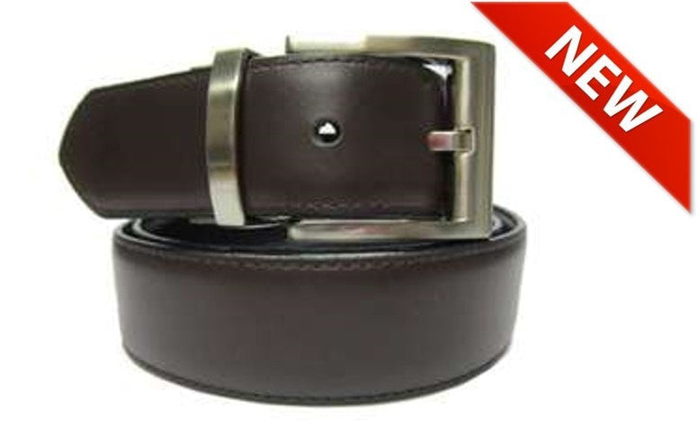 The Magnum - Reversible Leather Belt