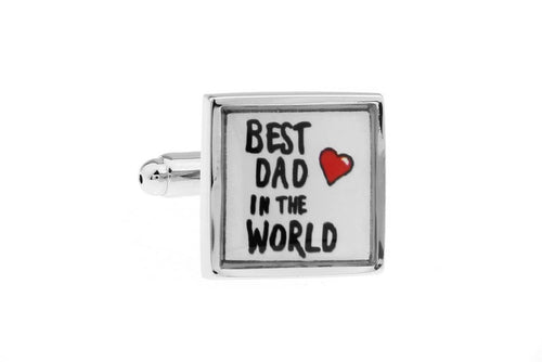 Best Dad Cuff Links, Unbreakable Man - 1