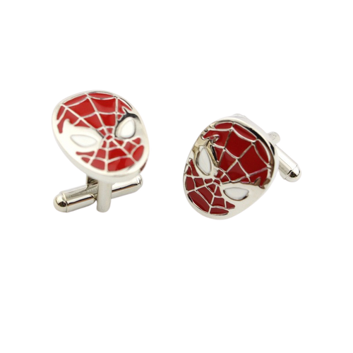 Spiderman Cuff Links