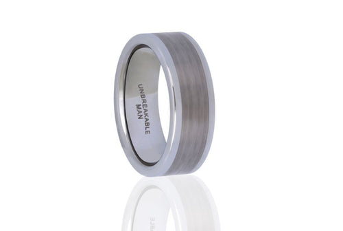 Strength Tungsten Ring, Unbreakable Man - 1