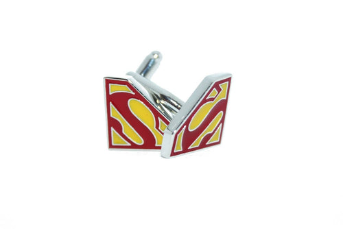 Superman Cuff Links, Unbreakable Man - 1