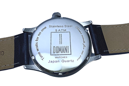 Domani Watch Engraving