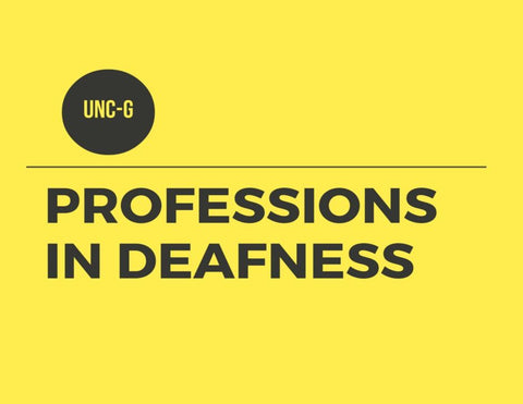 Professions in Deafness 100 Series