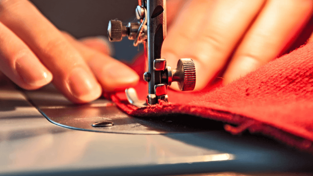 sewing with velvet