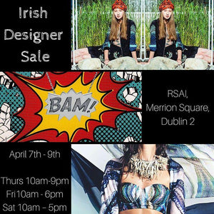 Irish Designer Sample Sale!
