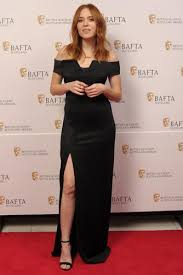 Angela Scanlon BAFTA Scotland 2016 Edge Only BAM Letters NEcklace gold © BAFTA/Andy Buchanan