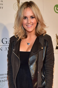 Cassie Stokes TV3 Xposé IFTA Gala Television Awards Edge Only black heart pendant
