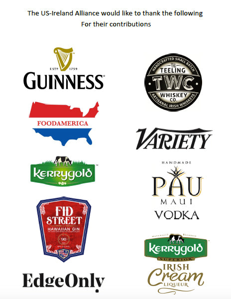 US Ireland Alliance 13th Annual Oscar Wilde Awards Programme sponsors. Edge Only jewelry