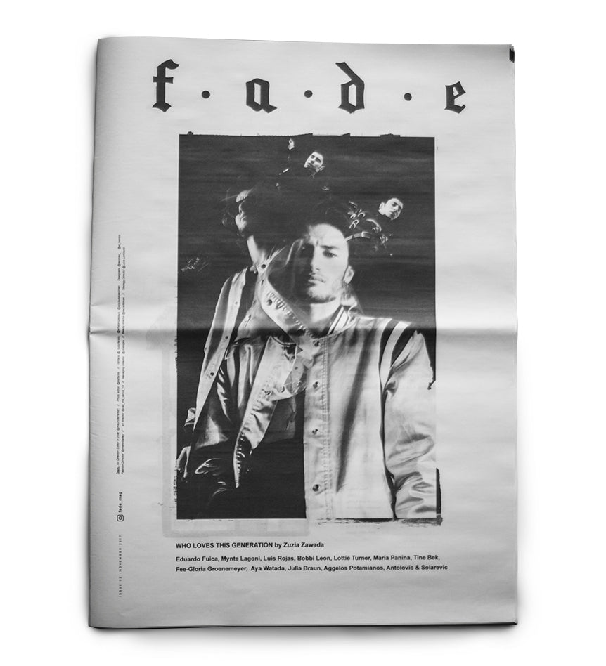 FADE Magazine Cover November 2017 Edge Only jewellery