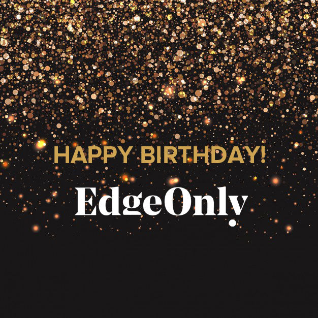 Happy Birthday Edge Only jewellery. Three Years Old