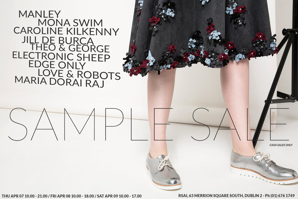 Irish Designer Sample Sale - Manley Edge Only RSA