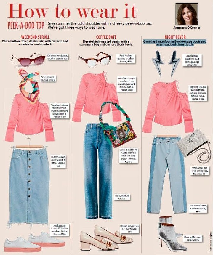 Irish Examiner Weekend How To Wear It August 26 2017