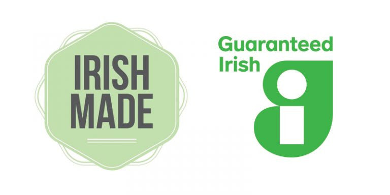 Irish Made Awards Logo Irish Country Magazine and Guaranteed Irish
