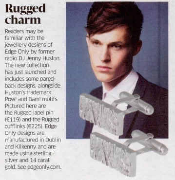 Sunday Business Post Rugged Charm Edge Only jewellery Jenny Huston Ruth O'Connor