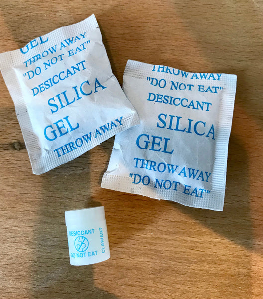 Silica Gel Desiccant packs | Edge Only jewellery care