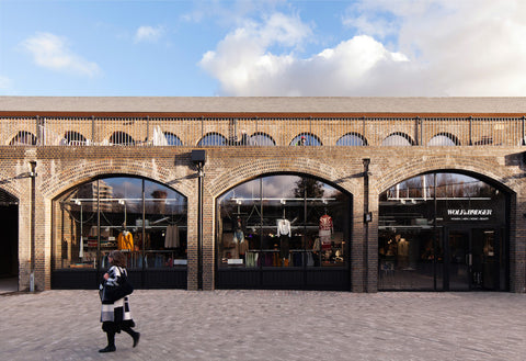Wolf & Badger Kings Cross London side entrance Coal Drops yard