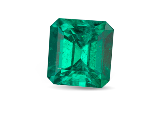 GIA polished green Emerald