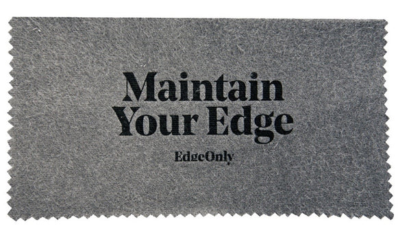 Edge Only Silver Polishing Cloth