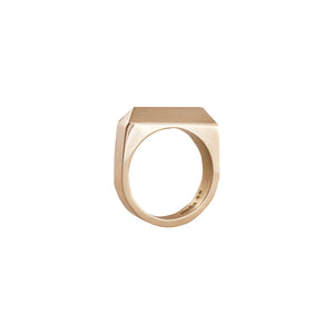 Edge Only Rooftop Ring in 14 carat Gold 14kt
