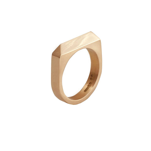 Rooftop Ring in 14ct Gold