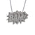 Edge Only BAM Pendant XL Long in sterling silver
