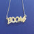 BOOM! Necklace in sterling silver