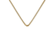 Box Chain 50cm - 18ct gold vermeil