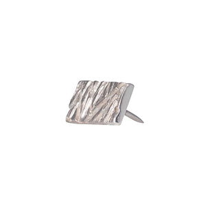 Edge Only Rugged Lapel Pin in Sterling Silver