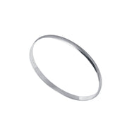 Edge Only Bangle 4.5mm in sterling silver