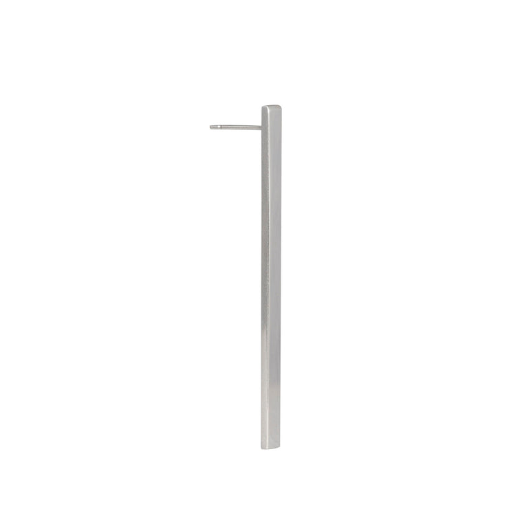 Edge Only Long Bar Earring in sterling silver