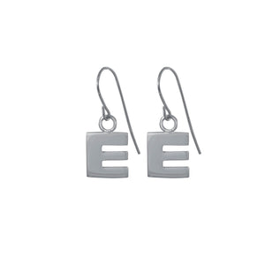 Letter Earrings - 18ct Gold Vermeil