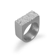 Edge Only Rugged Ring in sterling silver