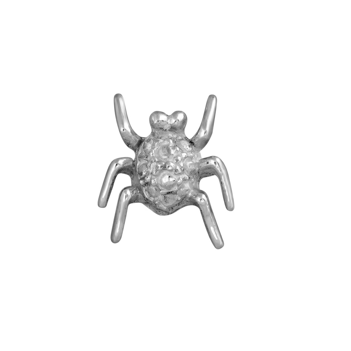 Edge Only Spotted Bug Pin in sterling silver