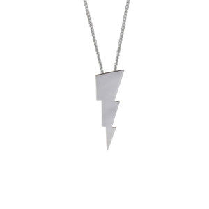 Edge Only Triple Bolt Pendant in sterling silver