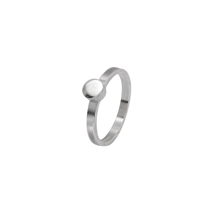 Circle Stacking Ring in Sterling Silver