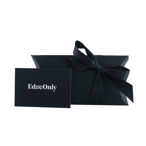 Edge Only gift Card and pillow box