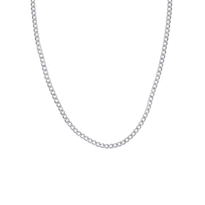 Edge Only Men's Heavy Curb Chain in sterling silver